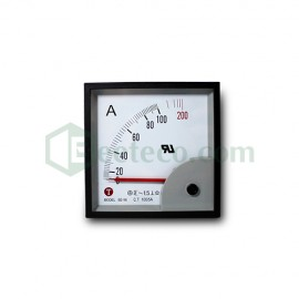 Đồng hồ Ampe 5/5A - 4000/5A AC  Taiwan Meters BE 72x72