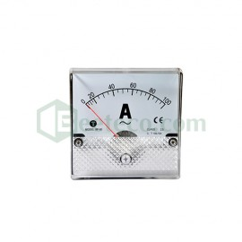 Đồng hồ Ampe 5/5A - 5000/5A AC Taiwan Meters BE 96x96