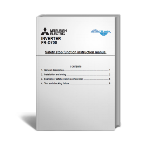 Catalog FR-D700 Safety stop function instruction manual